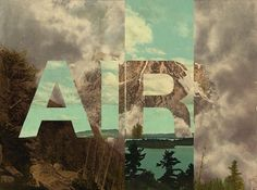 Playing with the Elements (8 total) - My Modern Metropolis #elements #air #retrofuturs #typography