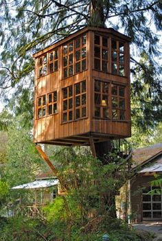 FFFFOUND! #outdoor #design #treehouse