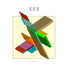 XXX #illusion #design #graphic #color #geometric #xxx #interlock #illustration #identity #art #010111