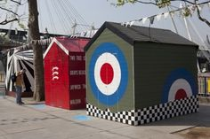 Festival of Britain anniversary at the Southbank Centre | PORT magazine #sheds #supergraphics