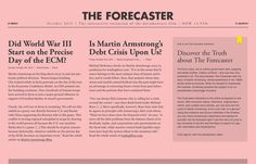 The Forecaster, inspiration N°445 published on The Gallery in date October 16th, 2015. #website