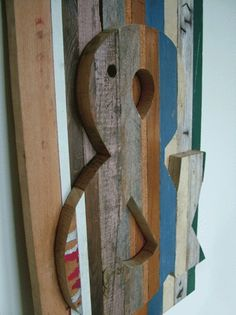 Richard Pearse | Colossal #pearse #richard #ampersand #wood #art #woodwork