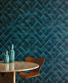 Pleats Wallpaper Collection by Elitis