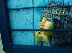 Street Art by Christian Guémy | Cuded #gumy #christian #art #street