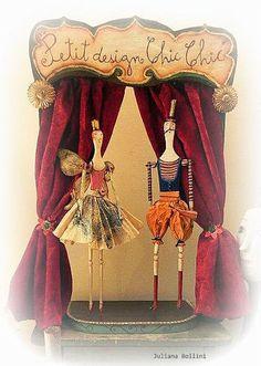 photo #fairy #doll #scene #courtain #paper