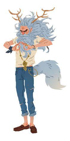 Yogi character design on Behance