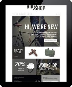 BIKE SHOP / branding #web
