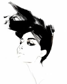 Fashion illustrator, David Downton - Creative Journal #art