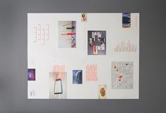 MICA Grad Show 2014 Â Â | Â Â View on Behance This year-long project pulled together content from the Maryland Institute College of Arts #catalog #neon #print #grid #layout #editorial #brochure #typography