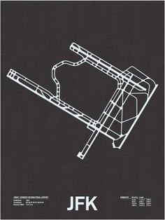 FFFFOUND! | Airport Runway Screen Prints - Minimalissimo #screenprint #poster