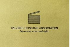 Our work with Valerie Hoskins Associates #letterpress #typography