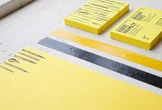 Teacake Stationery #yellow
