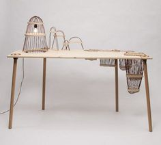 land(e)scape desk 1 #wood #desk