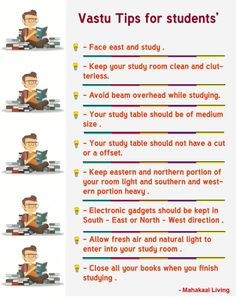 Vastu Tips For Students - Improve Performance & Concentration