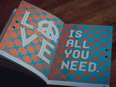 Dribbble - Ribbon Specimen Book Shot 1 by Urban Influence #you #print #book #all #illustration #need #love #typography