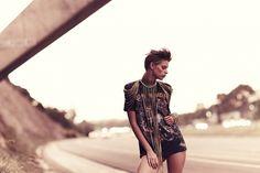 Coventina by Amanda Fordyce on Ben Trovato #fashion #photography