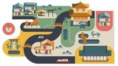 Cities #graphic design #illustration #editorial design