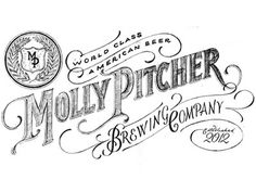 Dribbble - Molly Pitcher by James T. Edmondson #font #molly #lettering #losttype #pitcher #type #hand #lost