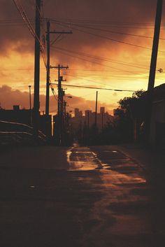 #Photography #Urban #City #Vancouver #Sunset #Sky #Muted #Light #50mm #VSCO