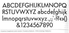 Semplicità -tondo-neretto.jpg (JPEG-Grafik, 594x285 Pixel) #serif #sans #semplicita #geometric #italian #nebiolo #typeface #futura #italy