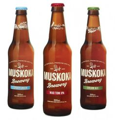 Muskoka Brewery : Lovely Package . Curating the very best packaging design. #brewery #muskoka