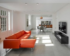 living room, house extension, Scott Donald Architecture