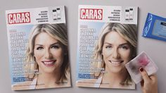 #interactive #newspaper #ad for #caras