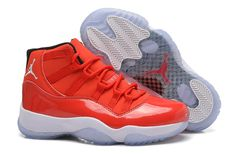 Nike Air Womens Shoes Xi 11 Chinese Red White Hot on Sale