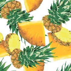 pineapple pattern #pattern #juicy #fruit #tropic #ukraine #poland #pineapple