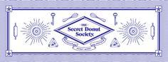 The Secret Donut Society by Ceci Peralta and José Velázquez #graphic design #print #illustration