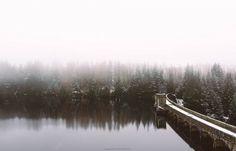 Loch Laggan dam by Manadh Photography
