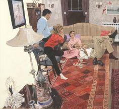 Bernie Fuchs #illustration #mid #century