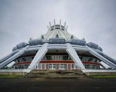 Vintage Socialist Architecture of North Korea by Raphael Olivier
