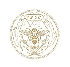 Milk of Wild Beasts #emblem #bee #entomology