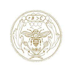 Milk of Wild Beasts #emblem #bee #entomology
