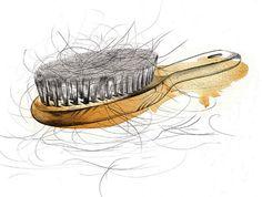 Refinery 29 inineumann #hair #illustration #aquarell #canyon