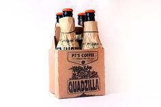 coffee, box, package, orange #coffee #paper