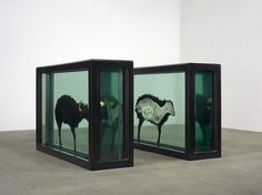 Haunch of Venison, Berlin : from Damien Hirst\'s formaldehyde zebras to Yoko Ono\'s anti-violence prescription from the medicine cabinet - N