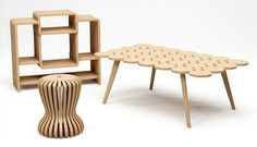 Kenyon Yeh - JUFUKU bamboo furniture #furniture #design