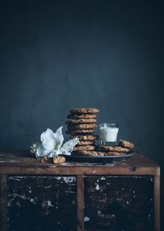 The Black Workshop #cookies #milk