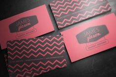 Creative Clean Business Card for Designer