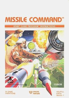 Atari - Missle Command | Flickr - Photo Sharing! #games #video #illustration #manual #booklet