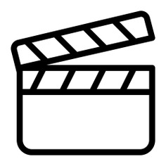 See more icon inspiration related to cinema, film, clapperboard, clapper, clapboard, movie, entertainment and music and multimedia on Flaticon.