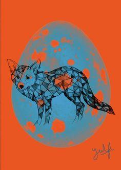 Yeohgh #pattern #fox