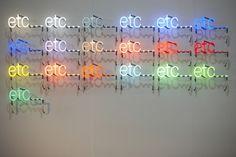 Peter Liversidge | PICDIT #art #neon