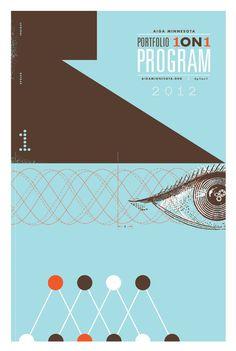 AIGA Portfolio 1ON1 DaviesGarage #portfolio #graphic #poster