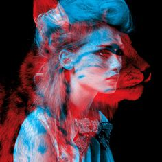 Series of Double Exposure Portrait by Helmo
