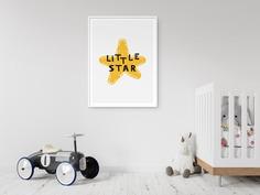 Little Star Kids Nursery Scandinavian Wall Art – Pikstok