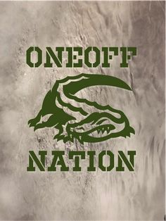 Oneoff Nation #gators #nation #oneoff