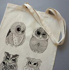 OWL #illustration #drawing #owl #black&white